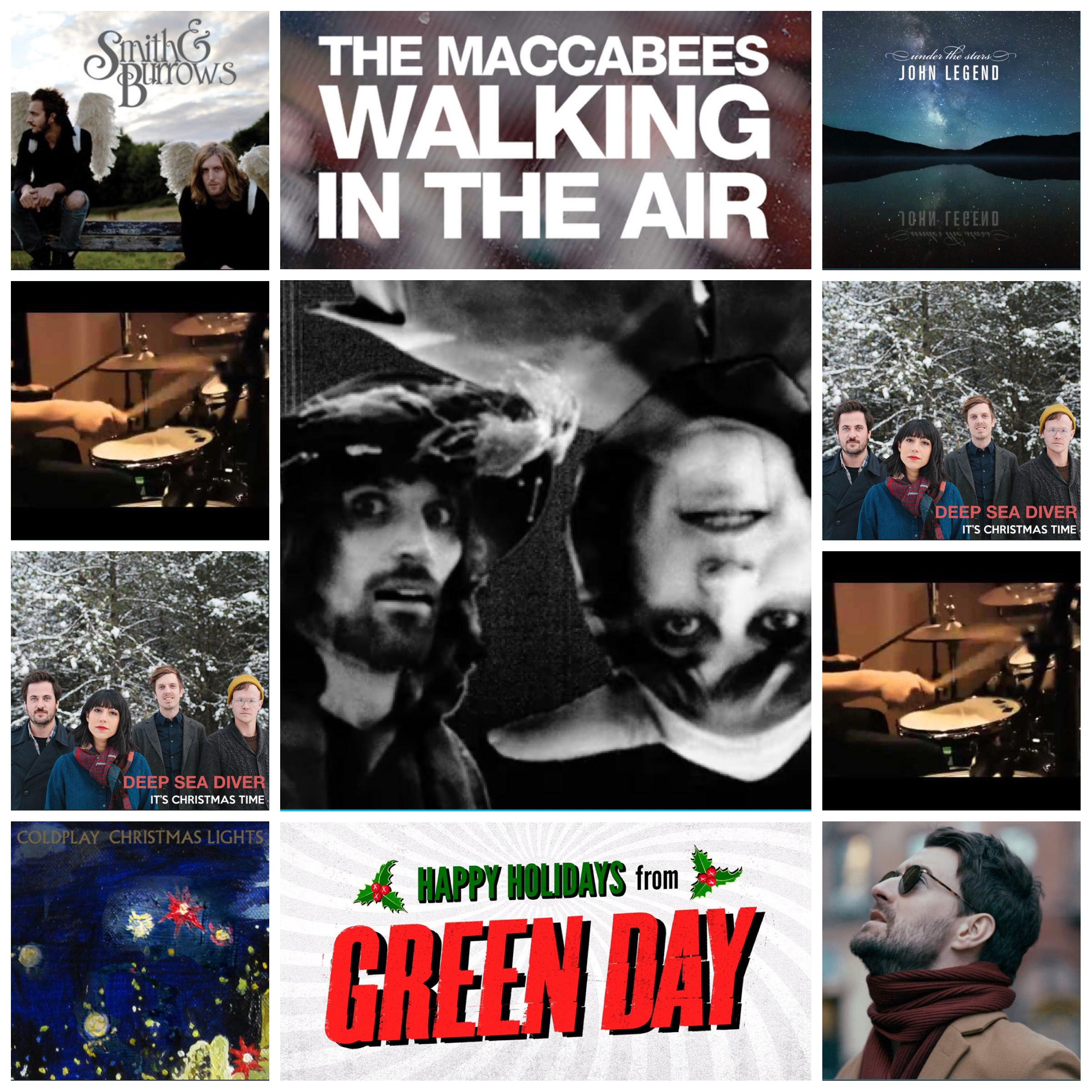 Green Day Christmas.A Modern Christmas Playlist Music Waffle